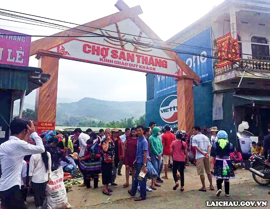Chợ San Thàng: Tạm dừng mọi hoạt động kinh doanh buôn bán từ ngày 26/3