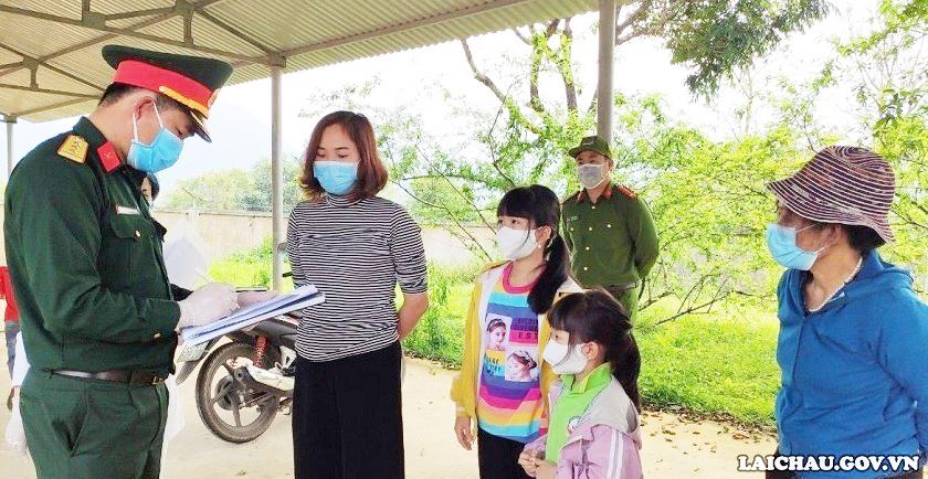 Lai Châu thành lập 12 Đội điều tra, xác minh các trường hợp tiếp xúc với người nghi ngờ nhiễm, người xác định nhiễm Covid-19, tỉnh Lai Châu